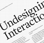 Undesigning interaction